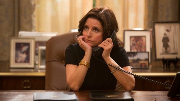 In this image released by HBO, Julia Louis-Dreyfus