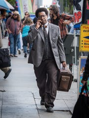 "Denzel Washington stars in ""Roman J. Israel, Esq."""