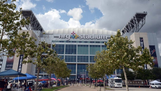 Houston, TX, USA; General view of NRG Stadium exterior before the NFL game between the Atlanta Falcons against the Houston Texans.