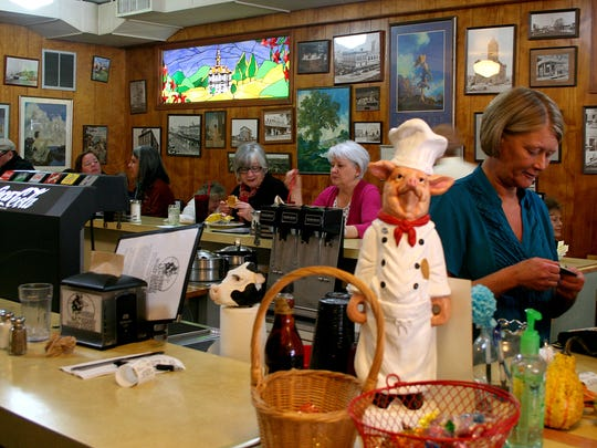A busy afternoon at the Court Street Dairy Lunch, Tuesday, Nov. 18, 2014.