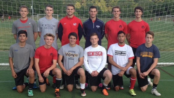 Top Row (Left to Right): Nick Green, Urijah Morrison, Corban Crosley, Will Jones, Ben Nickol,  Young Perry  Bottom Row (Left to Right):  Alejandro Escobedo, Jeremy Allsbrook, Massimo Tager, Austin Howard, Joevell Lee, River Naisang  Not Pictured:  Bryan Juarez, Ty Lenk, Daniel Vickers