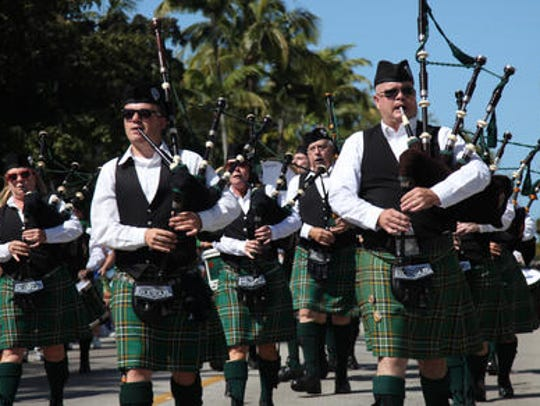 The Fort Myers Beach St. Patrick's Day Parade features