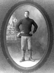 """""""The Black Cyclone,"""" which tells the story of Charles Follis, the first black professional football player, will be presented this weekend at Mansfield Senior High School."""
