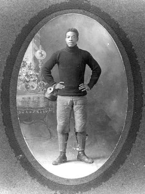 """The Black Cyclone,"" which tells the story of Charles Follis, the first black professional football player, will be presented this weekend at Mansfield Senior High School."