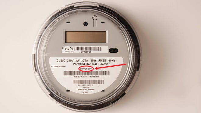 Customers can use the eight-digit meter number to identify if their meter is being exchanged.