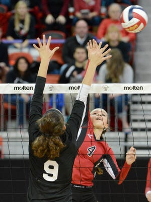 Newman Catholic's Rylie Vaughn was recently named the player of the week in Wisconsin, a joint honor from MaxPreps and the American Volleyball Coaches Association.