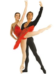 Former American Ballet Theatre (ABT) principal dancers, Irina Dvorovenko and her husband Maxim Beloserkovsky will perform in White Plains.