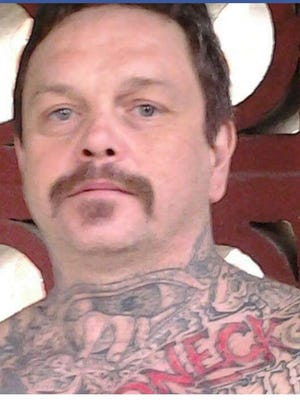 "Timothy ""Timbo"" Howell, 52, was arrested near Chattanooga after Rutherford County Sheriff's deputies took out warrants against him connected to a Friday armed robbery in Almaville."