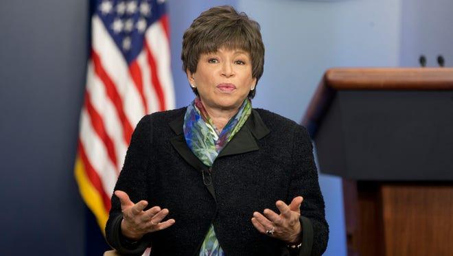 Senior White House adviser Valerie Jarrett