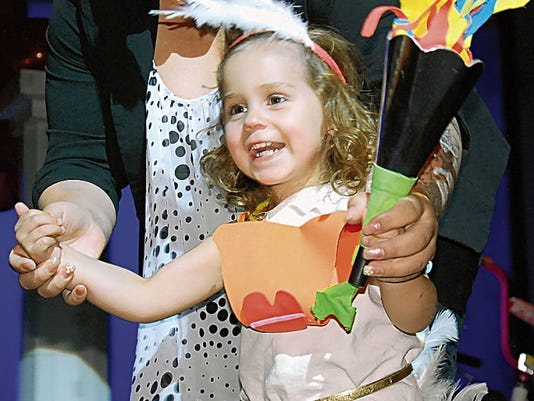 Scarlett Borde had a blast at the 2014 Duck Royalty Pageant to kick off the 35th annual Great American Duck Race. This year's pageant will be at 6:30 p.m. Thursday, Aug. 20, at the Deming Public Schools Auditorium and is sponsored by Mizkan Americas.