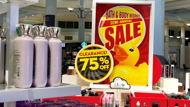 Take advantage of semi-annual sales at stores including Bath & Body Works during the long holiday weekend.