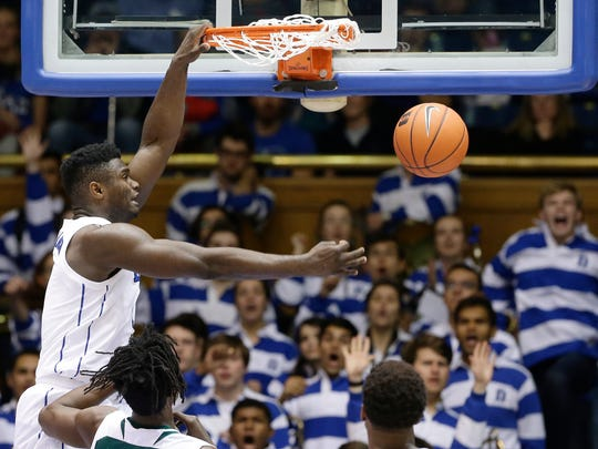 Duke freshman Zion Williamson is projected as a top-three pick in the 2019 NBA Draft, and could end up going No. 1 overall.