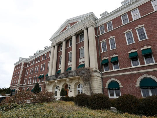 Roth Hall is on the campus of the Culinary Institute
