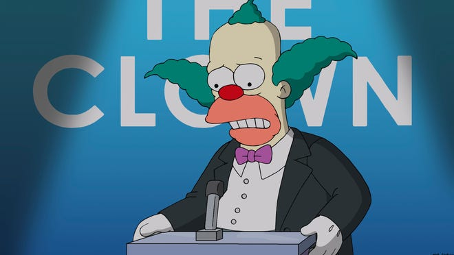 "Krusty the Clown decides to retire in Sunday's Season 26 premiere of ""The Simpsons,"" which features a character's death."