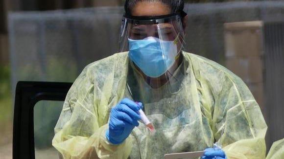 Coronavirus testing in San Bernardino County