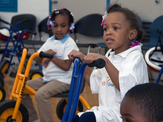 From the partnership between the Chevrolet Detroit Belle Isle Grand Prix and PNC through the Grow Up Great and Fifth Gear education programs, pre-kindergarten DPS students learn about science, technology, engineering and math (STEM) through motorsports and various activities.