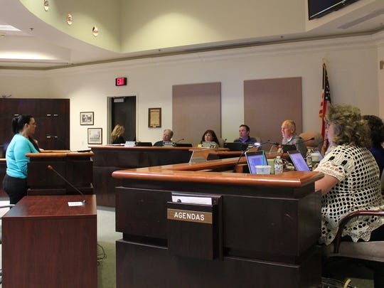 The City Commission took public comment on the Family Fun Center during the meeting. Lori Bies spoke about the legality of keeping the project at $6 million because it's what was decided by voters.