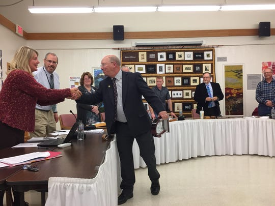 Dennis Granlie received the Presidents Award for his