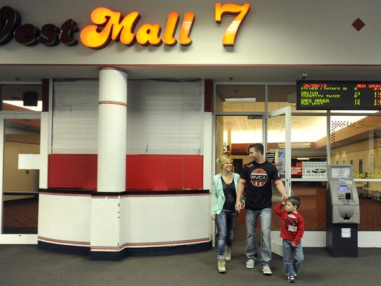 43. See a movie at West Mall 7 and eat lots of popcorn.