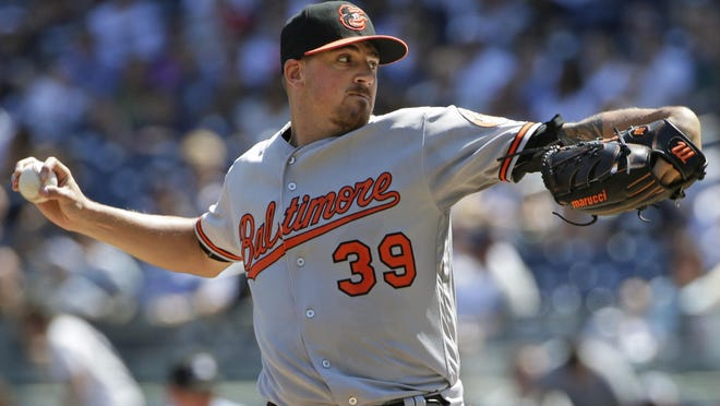 Baltimore's Kevin Gausman gave up seven hits over seven innings as the Orioles beat New York, 5-0.