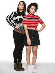 Abbi Jacobson, left, and Ilana Glazer are the stars