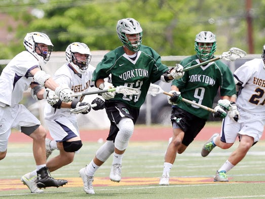 Yorktown defeated Highland 17-3 in the state Class