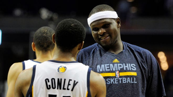 Mike Conley and Zach Randolph have helped guide the Grizzlies to the third-best record in the league.