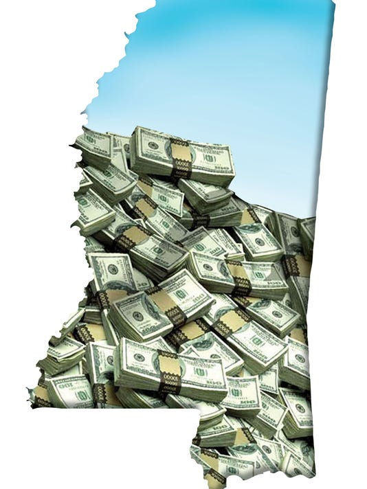 money, mississippi, map
