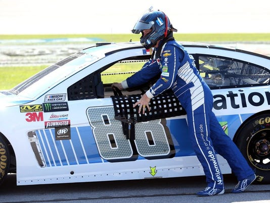 USP NASCAR: GEICO 500-QUALIFYING S CAR USA AL