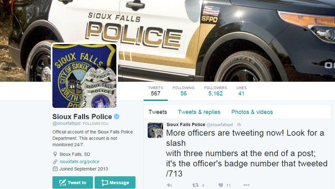 Sioux Falls police are increasing their social media presence.
