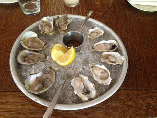 An oyster plate from Wickman House Restaurant, the host of Uncork Summer and one of 20 Door County food vendors who will serve small plates of their cuisine at the festival.