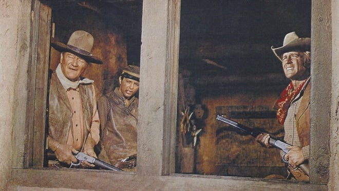 """John Wayne stars in the 1970 western """"Rio Lobo,"""" which will be shown July 7-8 at the Paramount Theatre in Abilene."""
