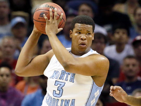 North Carolina center Kennedy Meeks played at 317 pounds last season.