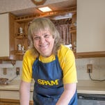After bringing home the blue ribbon for her Reuben SPAM Rollups at the 2014 Montana State Fair, Beverly Zehntner won the national Great American SPAM Championship.