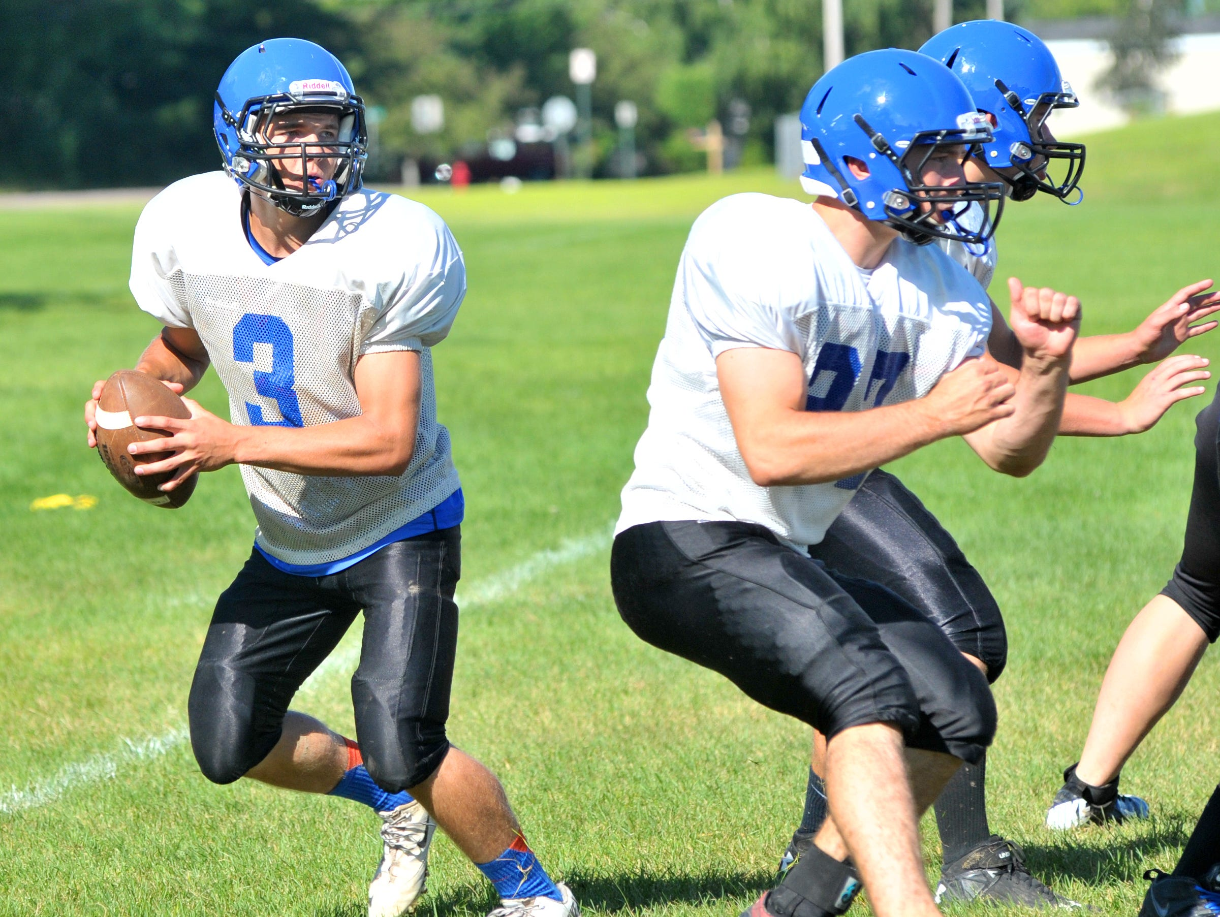 Quarterback Drew Hoff and Merrill have won three straight games since losing the season opener to Superior.