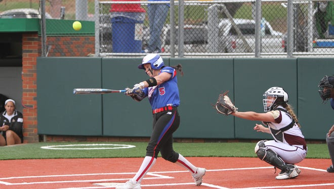 Louisiana Tech senior Anna Cross has hit 13 home runs this year to pace the top power hitting offense in Conference USA. The Lady Techsters lead C-USA with 60 home runs and 301 runs scored.