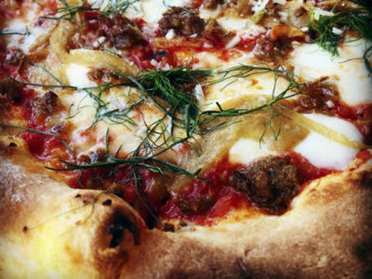 Cork & Fork has made-from-scratch pizzas and pastas.