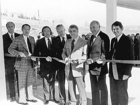 From left, Joel Gordon, Wayne Heatherly, Charles Martin,