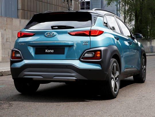 The 2018 Hyundai Kona