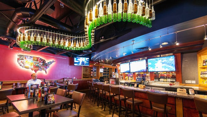 Red Robin in Darboy starts remodeling May 16. The bar is getting a beer chandelier similar to this one in an Arizona Red Robbin.