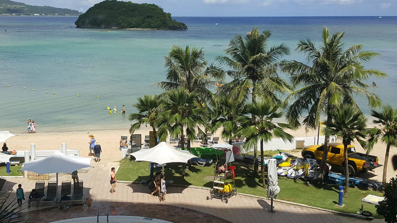 Guam's governor reassures nervous residents