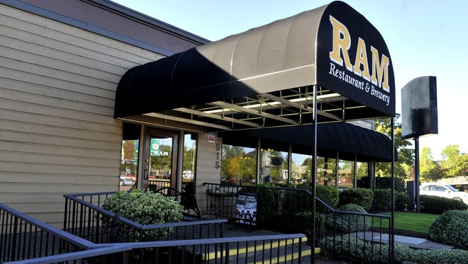 The RAM Restaurant and Brewery in Salem.