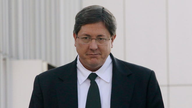 In this Jan. 21, 2015, file photo, high-ranking polygamous leader Lyle Jeffs leaves the federal courthouse, in Salt Lake City. Polygamous sect leader Jeffs is being let out of jail pending trial on accusations he helped orchestrate a multimillion-dollar food stamp fraud scheme. U.S. District Judge Ted Stewart in Salt Lake City on Thursday, June 9, 2016 granted Jeffs' latest request to be released, citing the fact that the other 10 defendants already out have complied with conditions set by the court.
