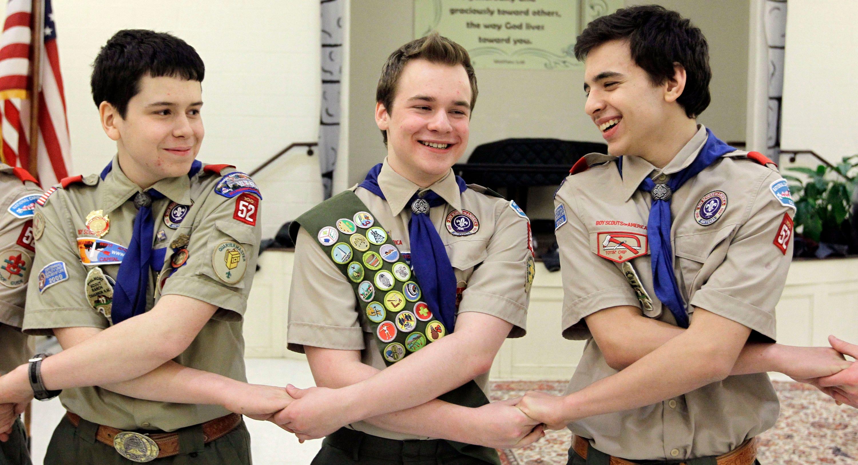 Gay boy scout leaders