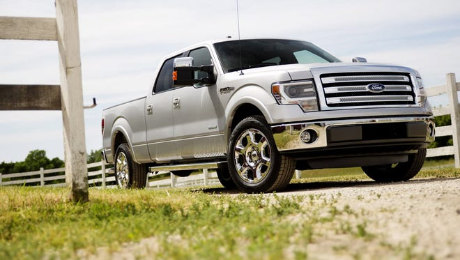 Ford is recalling about 271,000 of its 2013 and 2014 F-150 pickups to fix a fluid leak that can reduce braking power.  The recall covers about 271,000 F-150 pickups in North America from the 2013 and 2014 model years that have 3.5-liter V6 engines.