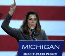 Democratic gubernatorial hopeful Gretchen Whitmer ...