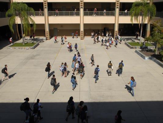 Central Middle school enrollment