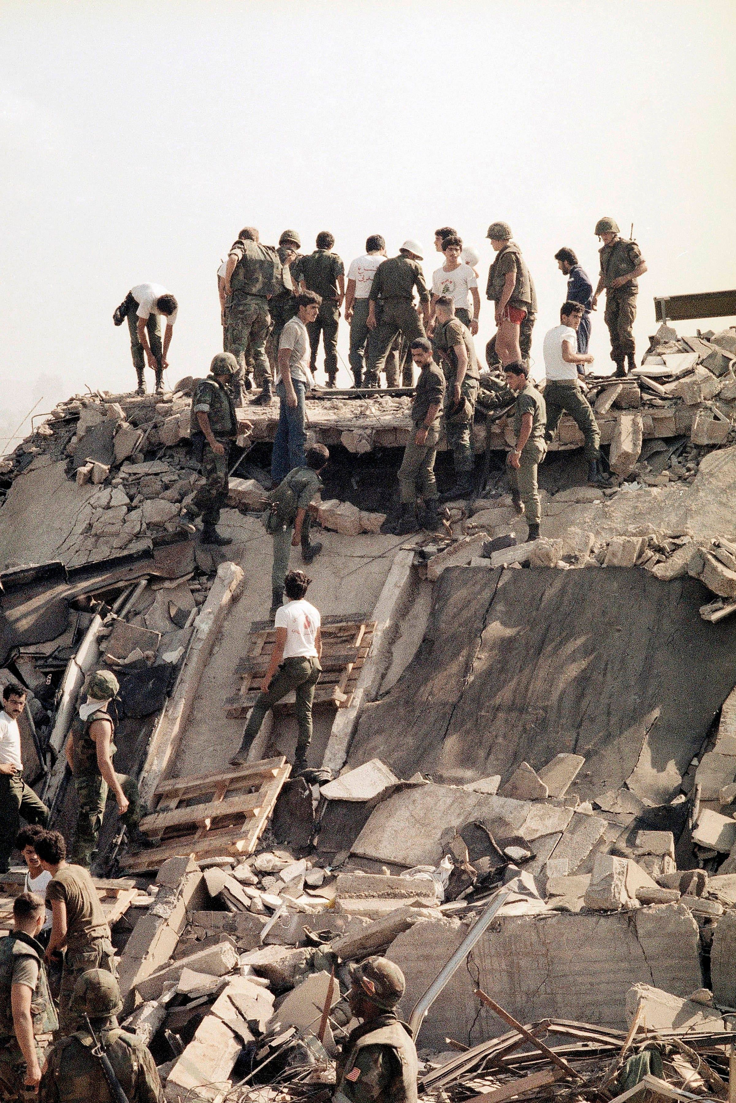 Recalling The Deadly 1983 Attack On The Marine Barracks
