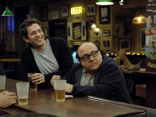 """Glenn Howerton (left) and Danny Devito are shown in a scene from the comedy """"It's Always Sunny in Philadelphia."""""""