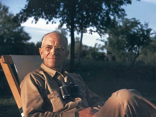 Conservationist and former University of Wisconsin-Madison professor Aldo Leopold.